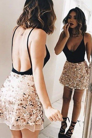 Spaghetti Straps A-Line Homecoming Dresses,Short Prom Dresses,Cheap Homecoming Dresses, Graduation Dress, Formal Women Dress,Homecoming Dress,Z477