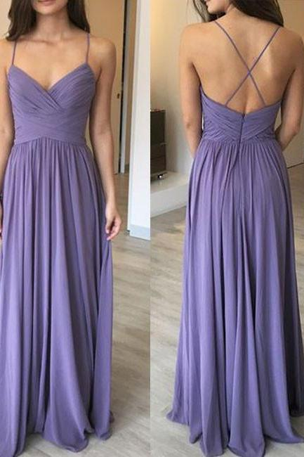 Newest Spaghetti Straps A-Line Prom Dresses,Long Prom Dresses,Cheap Prom Dresses, Evening Dress Prom Gowns, Formal Women Dress,Prom Dress,C617
