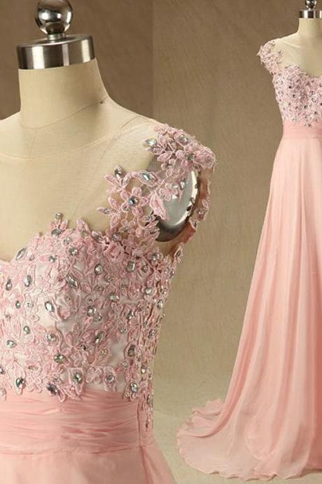 O-Neck A-Line Prom Dresses,Long Prom Dresses,Cheap Prom Dresses, Evening Dress Prom Gowns, Formal Women Dress,Prom Dress,C80
