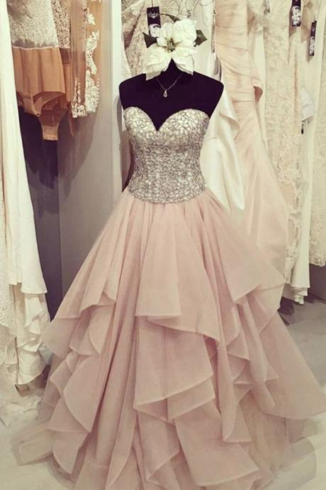 A-Line Sweetheart Beading Prom Dresses,Long Prom Dresses,Cheap Prom Dresses, Evening Dress Prom Gowns, Formal Women Dress,Prom Dress,C316