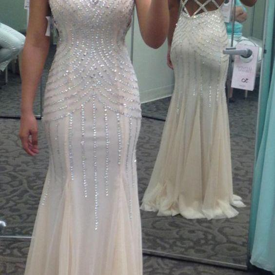 Newest O-Neck Mermaid Prom Dresses,Long Prom Dresses,Cheap Prom Dresses, Evening Dress Prom Gowns, Formal Women Dress,Prom Dress,C372